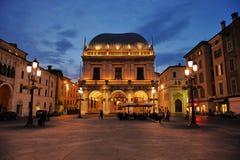 Logia de la plaza de Brescia Fotos de archivo