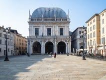 Logia del della de Palazzo del palacio en logia del della de la plaza fotos de archivo libres de regalías
