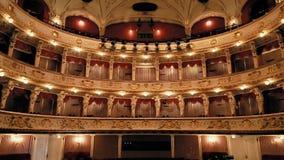 Logias croatas del teatro nacional almacen de metraje de vídeo