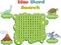 Logic game for learning English. Find the hidden words by vertic Royalty Free Stock Photos