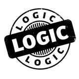 Logic rubber stamp Stock Images