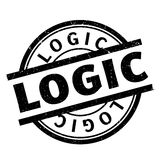 Logic rubber stamp Stock Photography