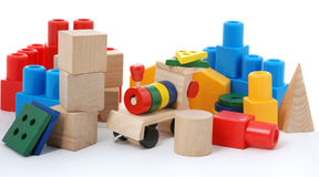 Logic toy. For children of preschool age. It is isolated on a white background Royalty Free Stock Image