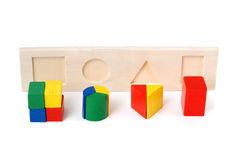 Logic toy Stock Photo