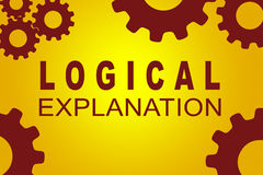 Logical Explanation concept Royalty Free Stock Photography