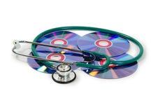 Logiciel médical Image libre de droits