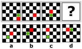 Logiczny quiz Zdjęcia Stock