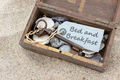 Logies met ontbijt Stock Afbeelding