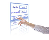Login Stock Photos