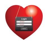 login Images libres de droits