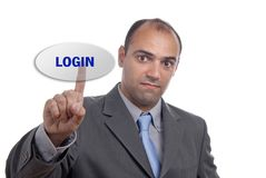 Login Stock Photography