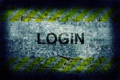 Login background Royalty Free Stock Image