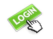 Login button Stock Photos