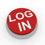 Login button Stock Image