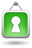 Login icon Stock Photography