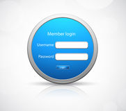 Login icon Royalty Free Stock Photos