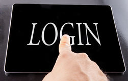 Login Stock Images