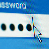 Login  password Stock Photography