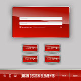 Login Template Stock Images
