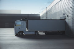Logistic concept Royalty Free Stock Photos