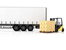 Logistic. 3d rendering Stock Photo