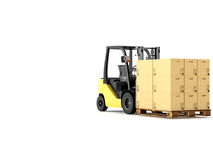 Logistic. 3d rendering Stock Images