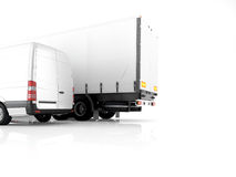 Logistic. 3d rendering Stock Photos