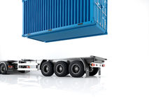 Logistic. 3d rendering Royalty Free Stock Photography