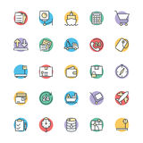 Logistic Delivery Cool Vector Icons 2 Stock Image