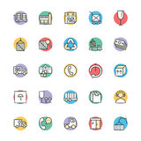 Logistic Delivery Cool Vector Icons 3 Stock Photos