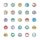 Logistic Delivery Cool Vector Icons 1 Stock Image