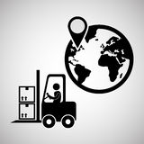 Logistic design. Shipping and Delivery conception Stock Photo