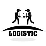 Logistic design. Shipping and Delivery conception Stock Photography