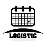 Logistic design. Shipping and Delivery conception Royalty Free Stock Images