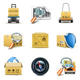 Logistic and distribution icons | Bella series Stock Image