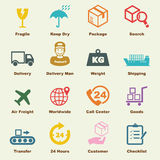 Logistic elements Stock Photos