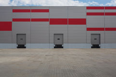 Logistic hall Royalty Free Stock Photography