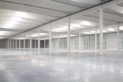 Logistic hall Stock Photo