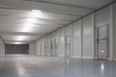 Logistic hall Stock Photography