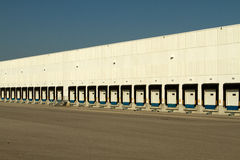 Logistic Loading Docks Royalty Free Stock Photos