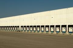 Logistic Loading Docks Royalty Free Stock Photos