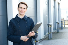 Logistic manager Royalty Free Stock Images