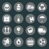 Logistic and packing icon Royalty Free Stock Images