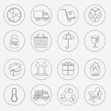 Logistic and packing icon Stock Photo