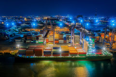 Logistic  port Royalty Free Stock Image