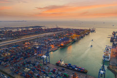 Logistic port Stock Photography