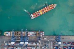 Logistic port Royalty Free Stock Photos