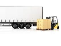 logistic rendição 3d Foto de Stock