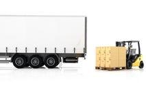 logistic rendição 3d Imagens de Stock