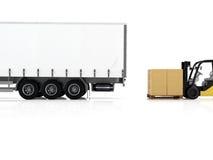logistic rendição 3d Imagem de Stock